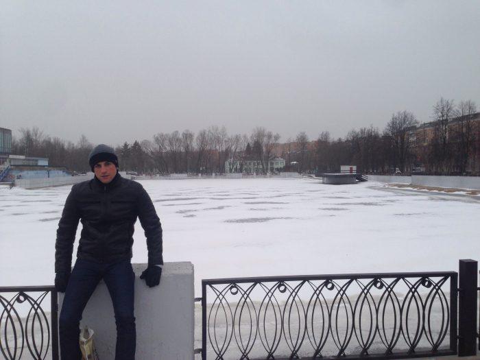 Photo prise le 31 mars, à 50 km à l'est de Moscou