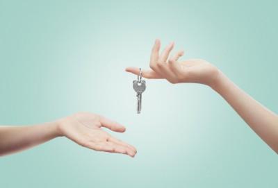 remettre les clés au propriétaire